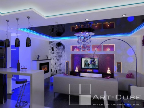 modern house 3d design by Art-Cube 2