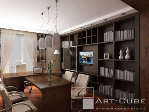 modern house 3d design by Art-Cube 9