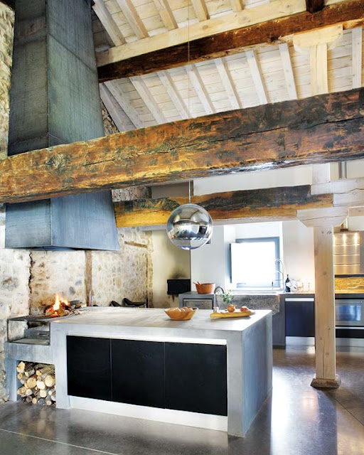 4 Elements Could Bring Out Traditional Kitchen Designs: 11 Amazing Concrete Kitchen Design Ideas