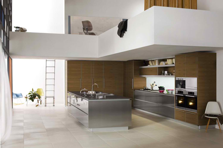 dada gray gloss kitchen