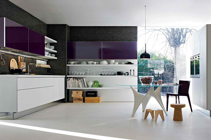 dada purple kitchen design ideas