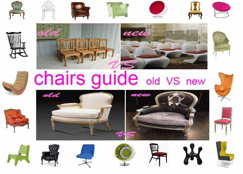 Chair Styles Guide Old VS New