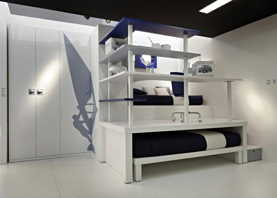 18 cool boys bedroom ideas decoholic for Cool small bedroom designs
