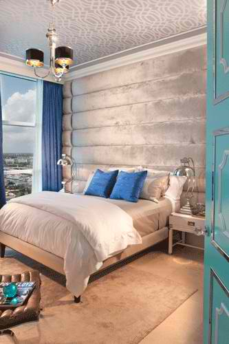 master bedroom in miami house by dkor