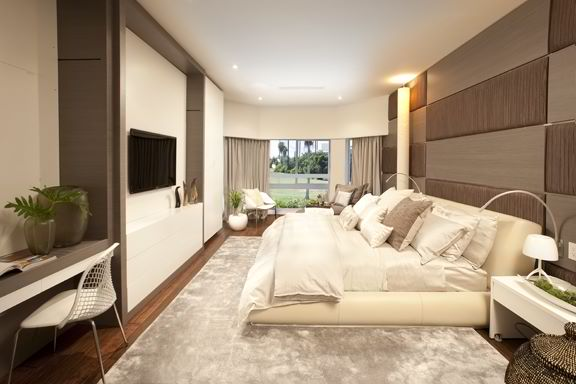modern bedroom by dkor