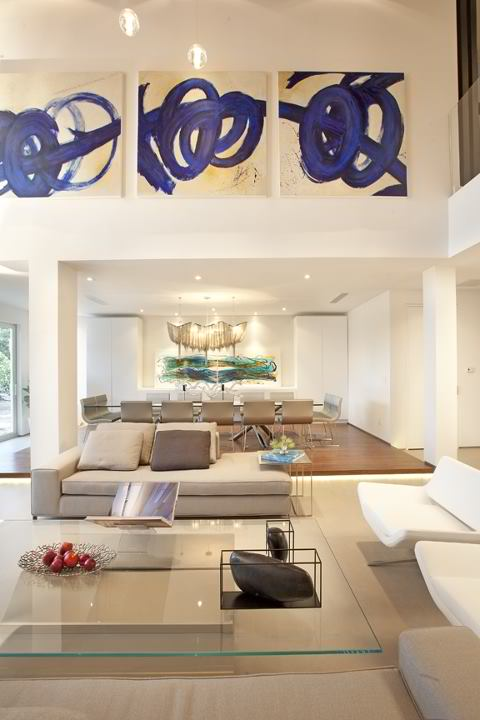 modern living room by dkor
