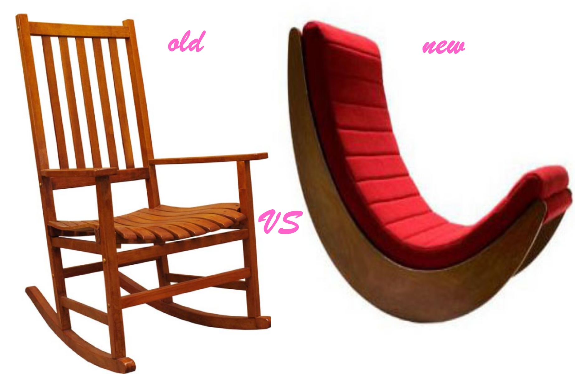 ... Benjamin Franklin was the inventor of rocking chairs, they were
