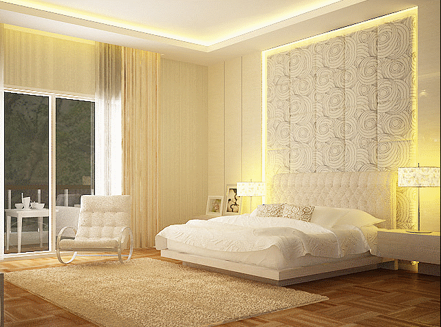 white bedroom by Nathalia lani