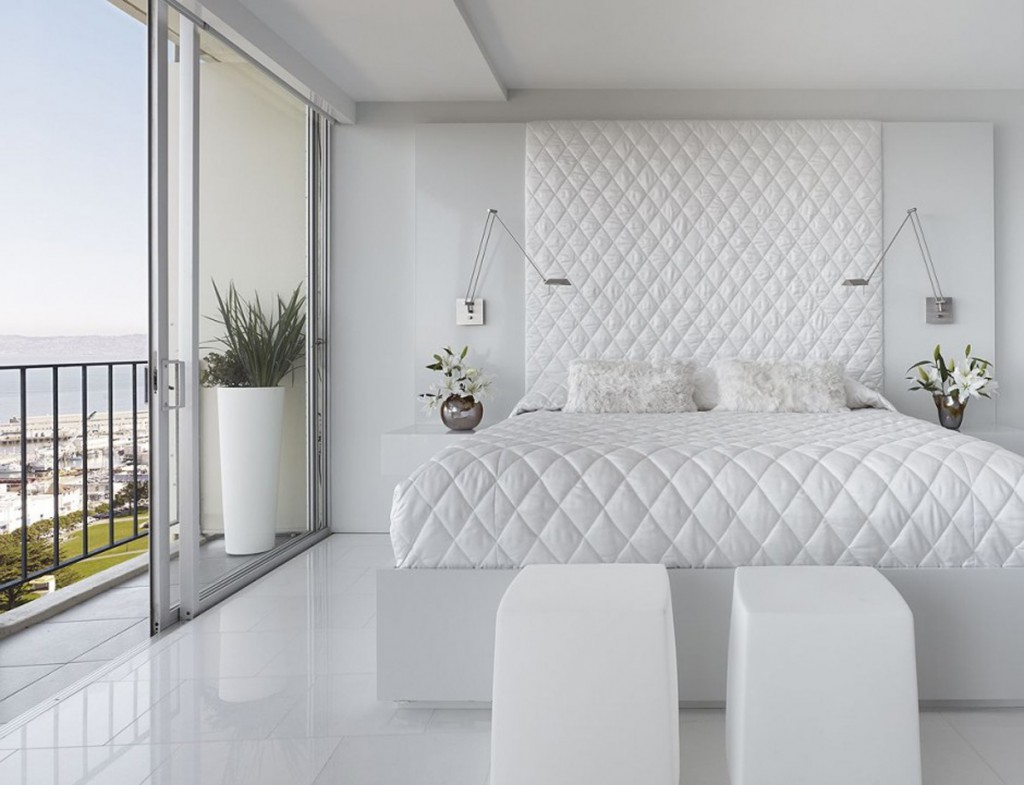 Attractive White Bedroom Decorating Ideas By Mark English Architects