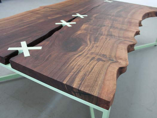 Stitch coffee table by Uhuru Design