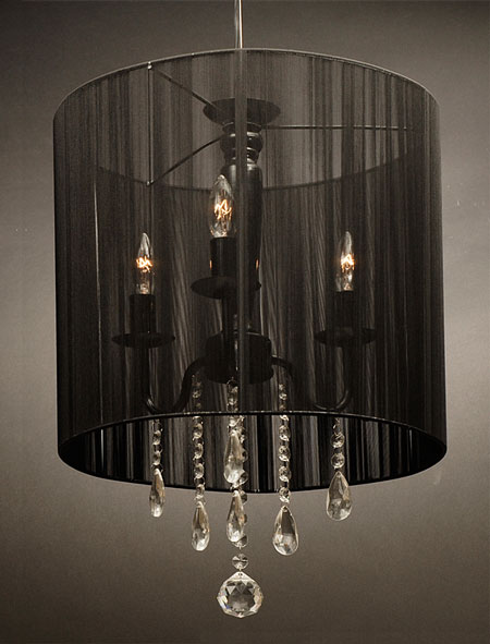 cheap black chandelier