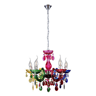 cheap colorful chandelier
