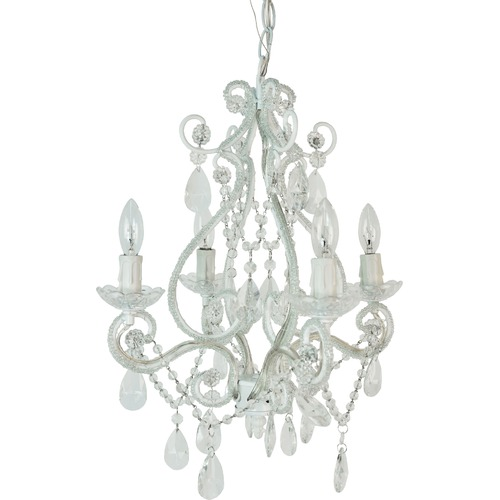 Modern and cheap chandeliers decoholic cheap pink 4 ligth chandelier aloadofball Images