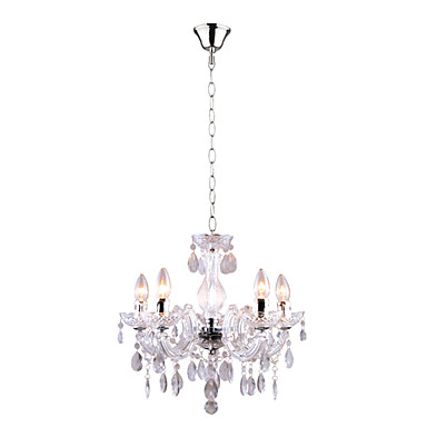 cheap modern acrylic chandelier