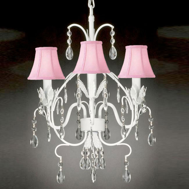 cheap crystal pink chandelier