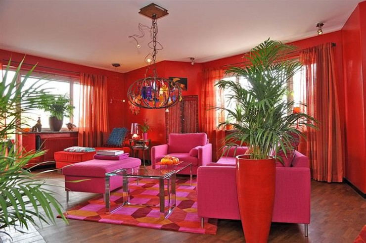 mixture contemporary retro style 2 interior design ideas