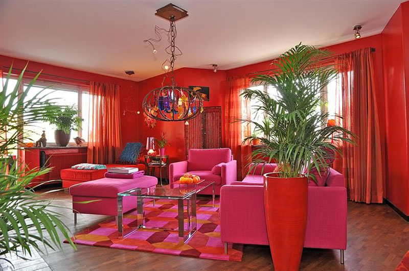 Contemporary Retro Interior Design - Decoholic