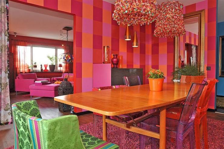 mixture contemporary retro style 5 interior design ideas