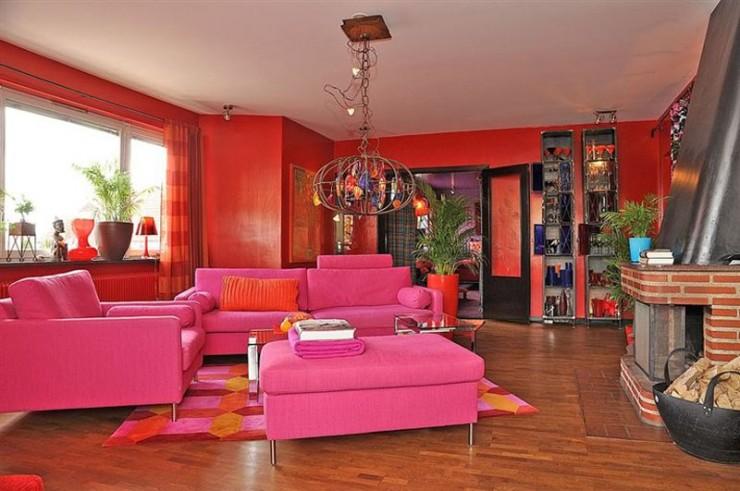 mixture contemporary retro style interior design ideas