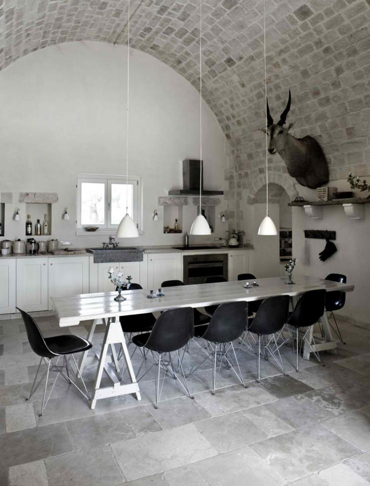 Decordemon House Castle In Puglia Italy