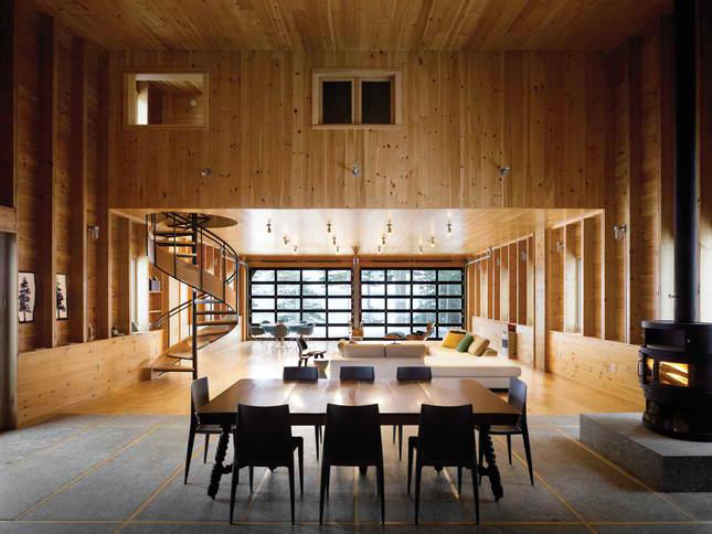 house interior New England barn style 3 ideas