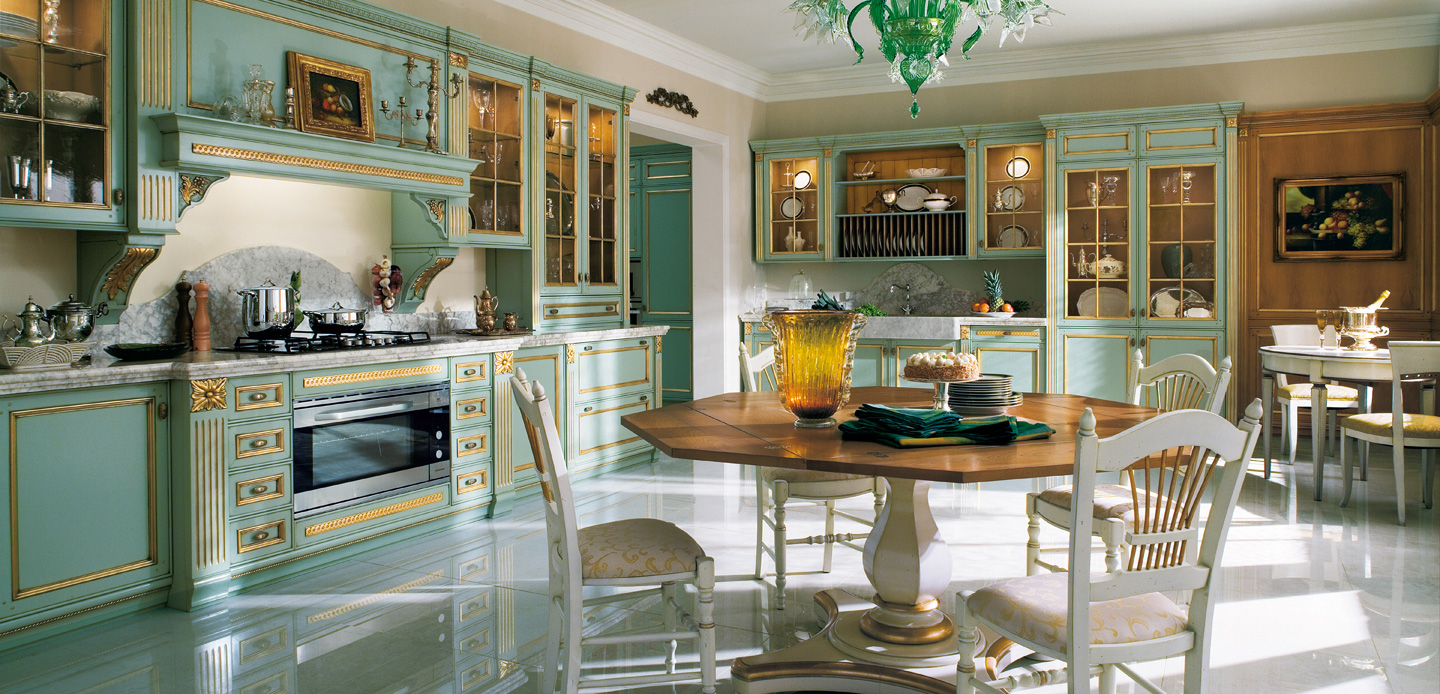 Awesome kitchen design by ca 39 d 39 oro decoholic for Luxury kitchen designs 2012