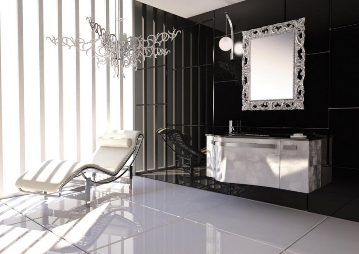 luxury bathroom furniture 2 ideas