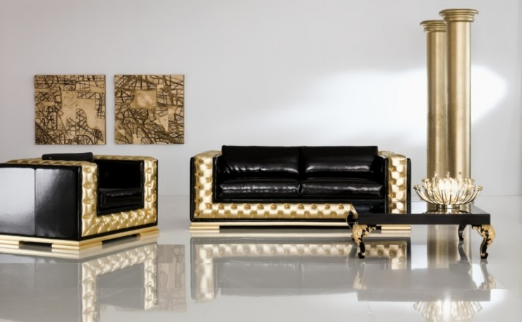 luxury modern living room furniture set