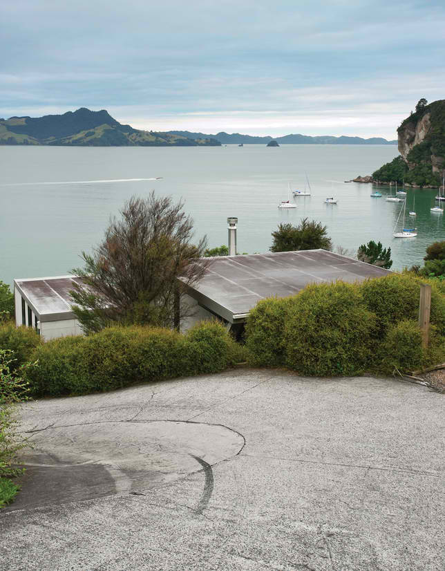 seaside New Zealand house view 2