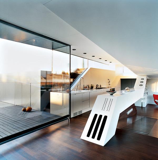 Stunning ultra modern penthouse in Vienna
