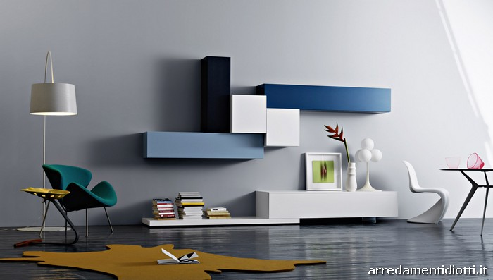wall units living room contemporary living room furniture - Living Room Furniture Wall Units