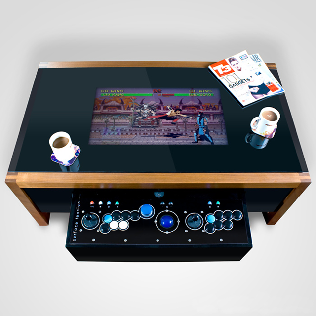 Arcane Arcade Game Table Specification 5