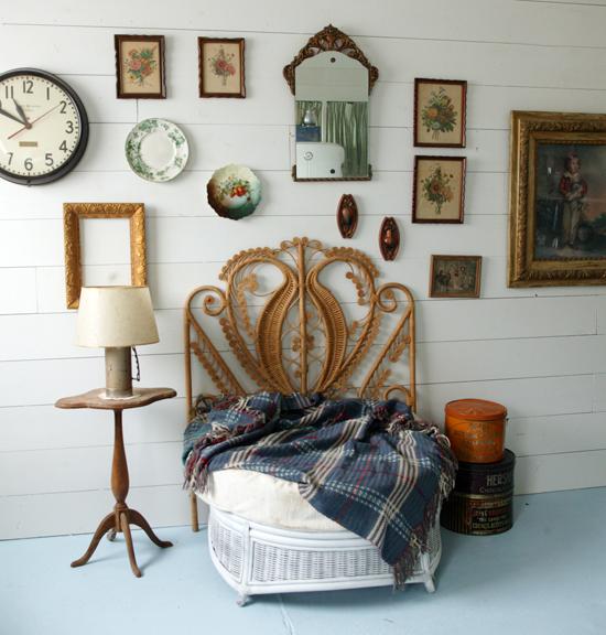 vintage headboard for teenage girl bedroom