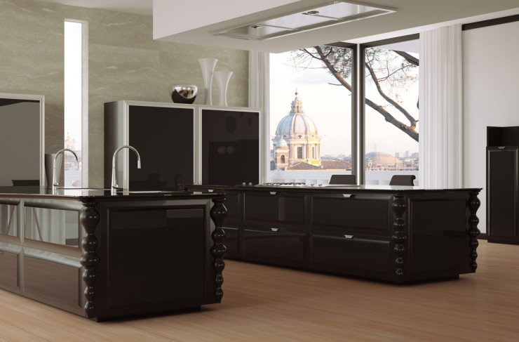 black modern luxury_kitchen_designs_scic