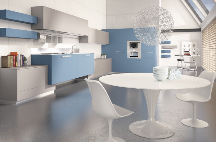 blue kitchen cabinets scic