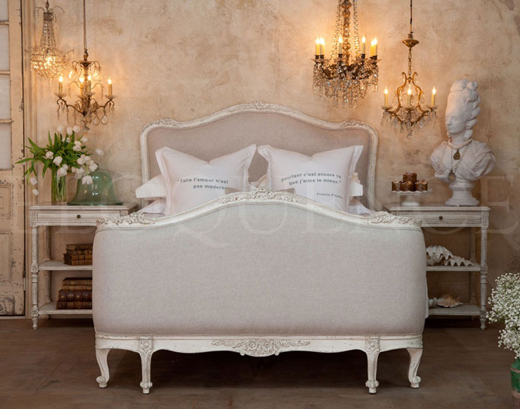 chabby chic bed 2 designs