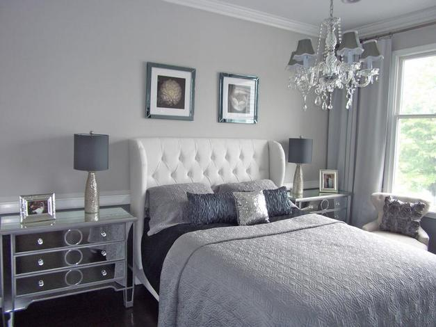 Ton of bedroom inspiring ideas for Grey and white bedroom designs