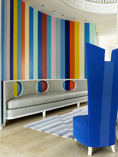 colorful interior design 8 ideas Anthony Baratta
