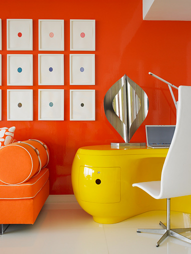 colorful interior design ideas by Anthony Baratta