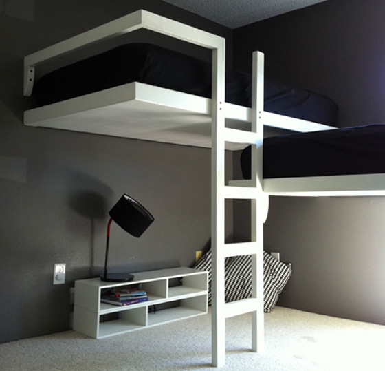 contemporary lloft beds