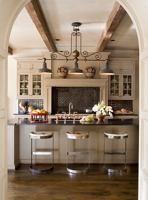 country chic kitchen designs