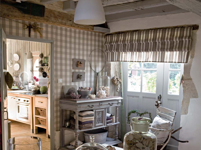 Country Interior Decorating Ideas: A Country House To Dream About