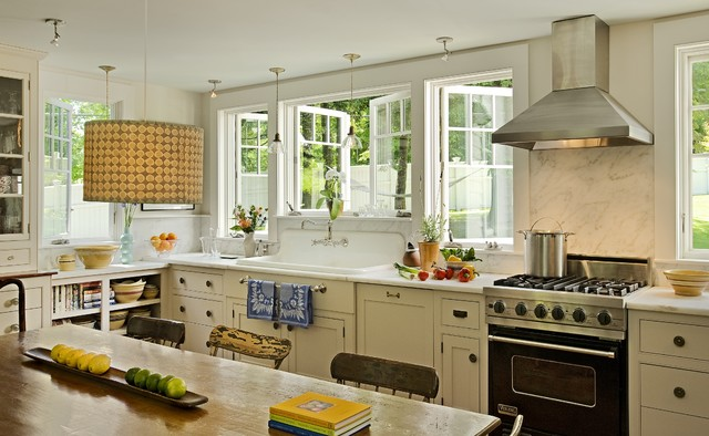 country kitchen 2 designs by Smith & Vansant Architects