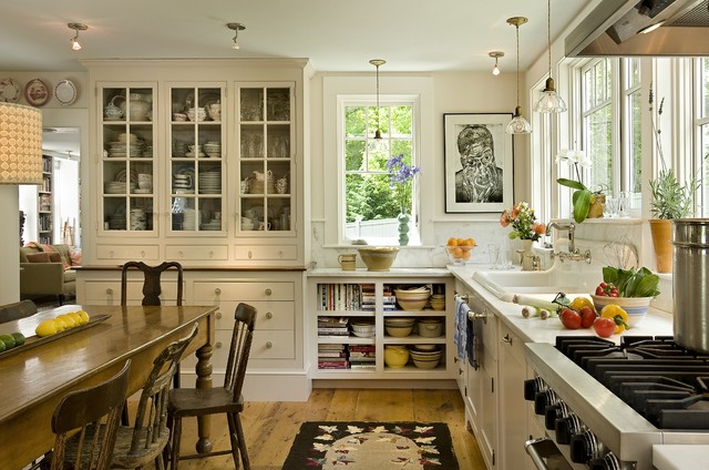 country kitchen designs by Smith & Vansant Architects