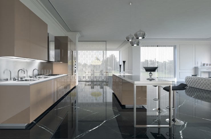 creme_gloss kitchen_cabinets