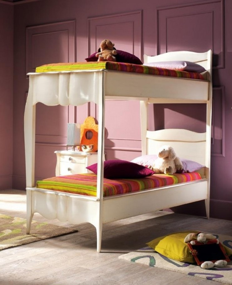 fascinating teenage girl bedrooms bunk bed | 10 Awesome Girls' Bunk Beds - Decoholic