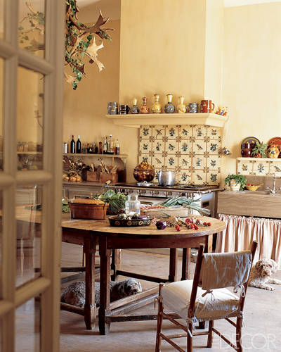 French Provincial Kitchen Ideas: Attractive Country Kitchen Designs