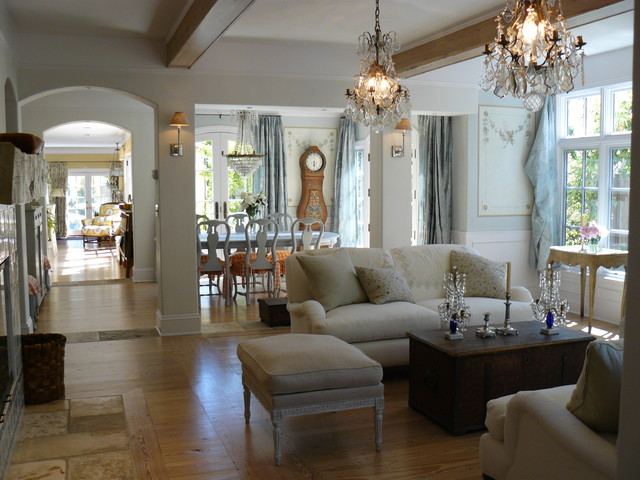 Attractive french living room design ideas decoholic - Living room ideas french country ...