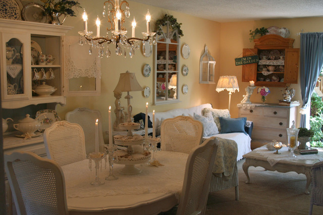 French Living Dining Room