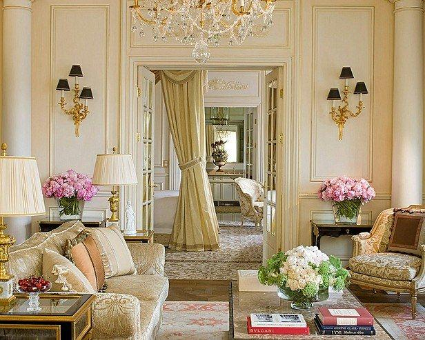 attractive french living room design ideas - decoholic
